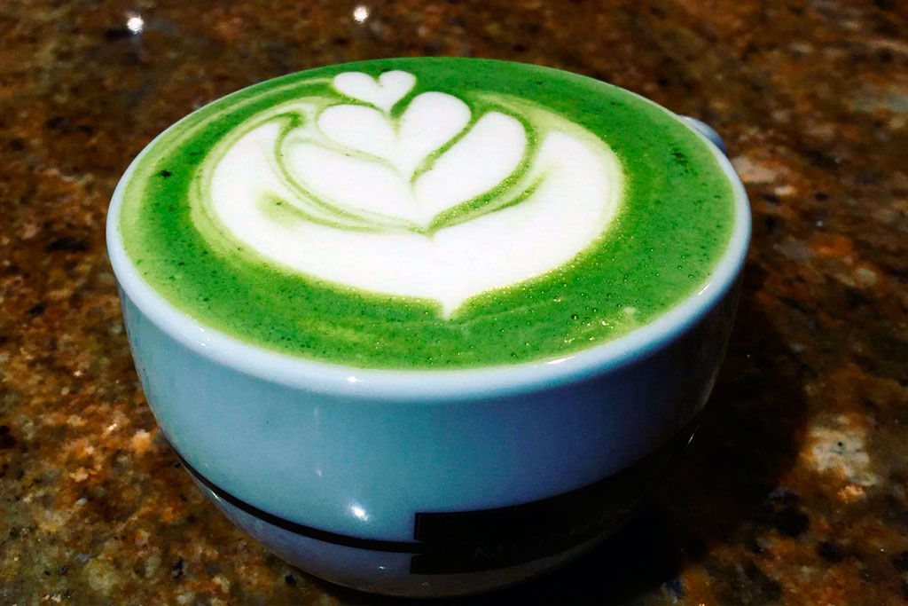Té verde matcha 'n latte